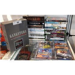 Assorted Video Games And Movies