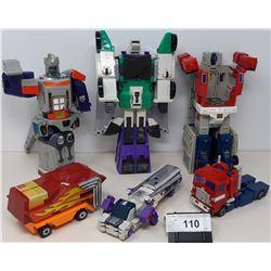 6 Assorted Pieces Transformers