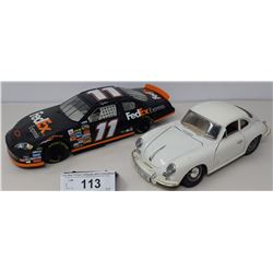 Pair Of Die Cast, 2007 Monte Carlo, 356B Porsche