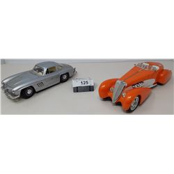 Pair Of Die Cast, Hot Wheels Speedster And Mercedes Bens 300Sl