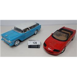 Pair Of Die Cast, Chevy Nomad, 1996 Chevy Camaro