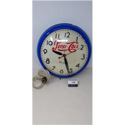 Vintage West Clock, Added Pepsi Cola Advertising