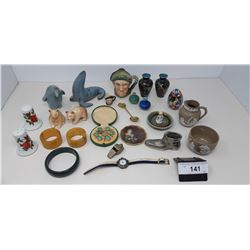 Smalls Including Several Pieces Of Cloisonne