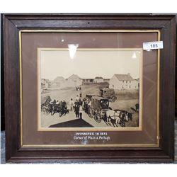 Original Photograph Of Main And Portage In Winnipeg