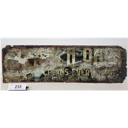 Vintage Gold Dust Washing Powder Tin Sign