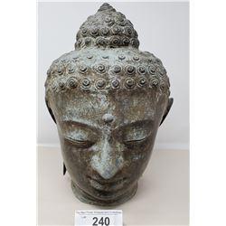 Vintage Bronze Buddha Bust