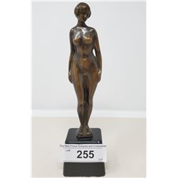 Bronze Nude Of A Lady Vintage
