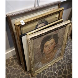 7 Original Paintings And Prints