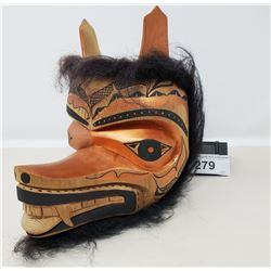 Nicely Detailed Carved West Coast Mask