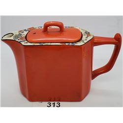 Large Art Deco Decorated Wade Tea Pot