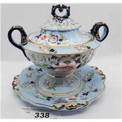 Victorian Tureen Highly Decorated