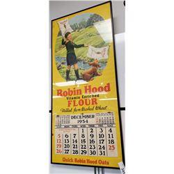 Original Boy Scout Robin Hood Flour Calendar