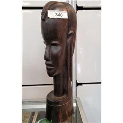 Large Carved Ebony Statue