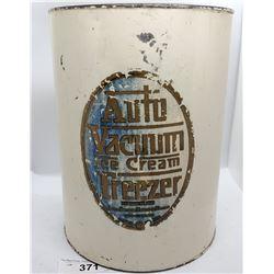 Auto Vacuum Ice-Cream Freezer