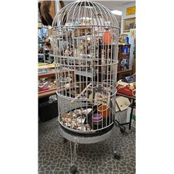 Large Floor Model Parrot Cage 6Ft Tall