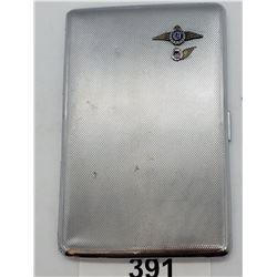 Monogramed Rcaf Cigarette Case