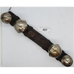Strap Of Vintage Sleigh Bells