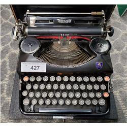 Vintage Type Writer In Case