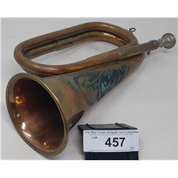 Vintage Brass Bugle