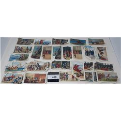 Large Stack Of Cigarette Linens Depicting Historic Occasions