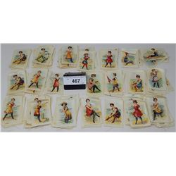 Large Stack Of Cigarette Linens Depicting Woman In Bathing Suits