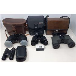 4 Pairs Of Binoculars