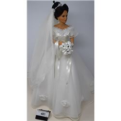 Large Doll In Brides Dress