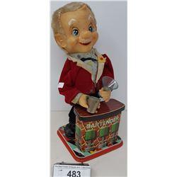 Vintage Toy Bartender