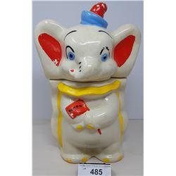 Vintage Dumbo The Elephant Cookie Jar