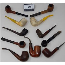 11 Assorted Pipes