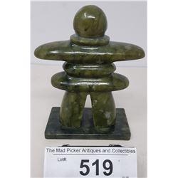 Jade Eskimo Sculpture