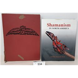Pair Of Hard Covered Native Books