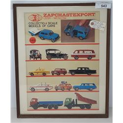Store Display For Russian Diecast Toys 1970-1980
