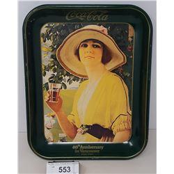 Vintage Coca Cola Tray 60Th Anniversary In Vancouver