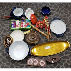 Vintage 70S Kitchenware, Etc..