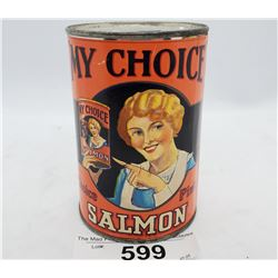 My Choice Salmon With Paper Label Bank
