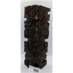 Nicely Carved Decorative Totem Pole