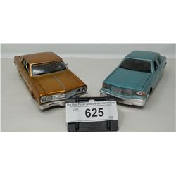 2 Die Cast Vehicles, Malibu And Caprese