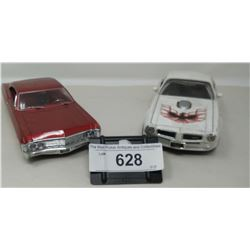 2 Die Cast Vehicles, 1 Impala, 1 Transzam