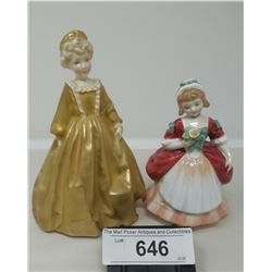 Pair Of Collectible Figurines