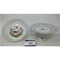 2 Collectible Dishes