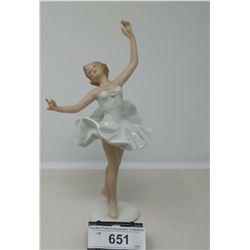 Early 1940's Scandinavian Ballerina Made Of Porcelain