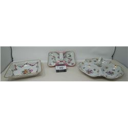 3 Piece Collectible Dishes