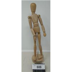 Vintage Wooden Articulated Mannequin