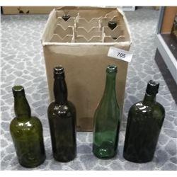 Misc Early Glass Bottles