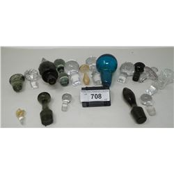 Box Of Misc Bottle Stoppers