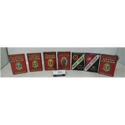 7 Pocket Tobacco Tins