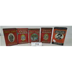 5 Pocket Tobacco Tins
