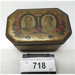 Vintage 1937 Coronation Tin