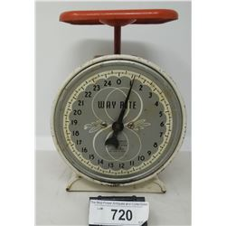 Early Hansen Way Right Kitchen Scale